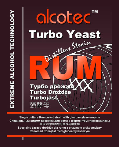 Alcotec Rum Turbo Yeast