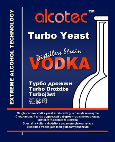 Alcotec Vodka Turbo Yeast
