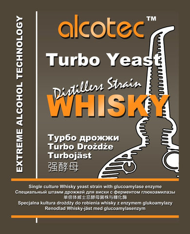Alcotec Whiskey Turbo Yeast