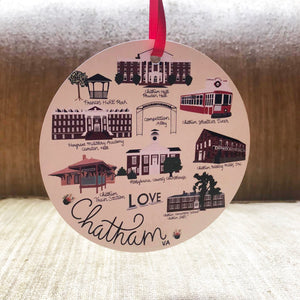 Chatham VA Ornament