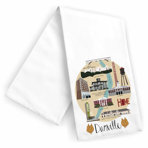 Danville Tea Towel
