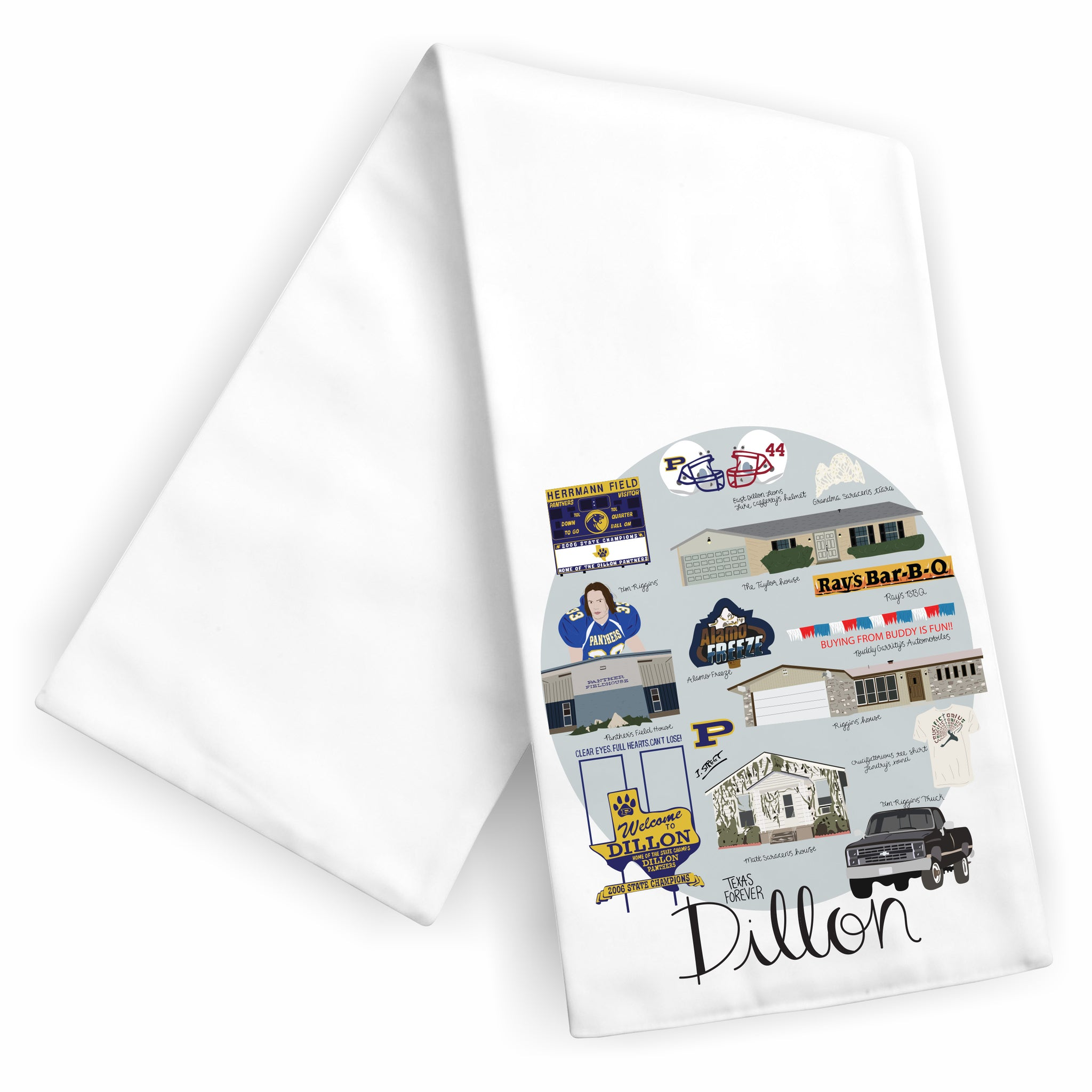 Dillon Tea Towel