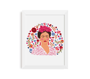 Frida Kahlo Passion Print