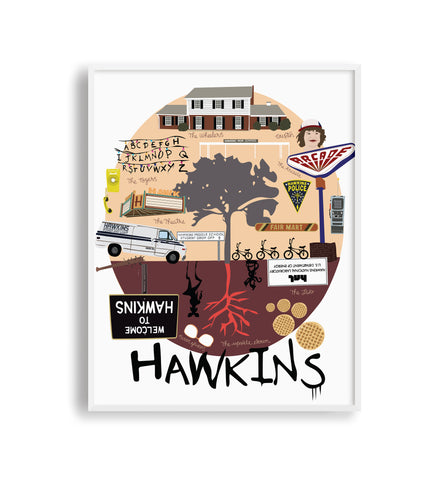 Hawkins - Stranger Things