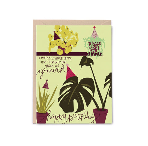 Growth Birthday Card