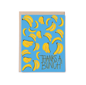 Thanks a Bunch Bananas Card