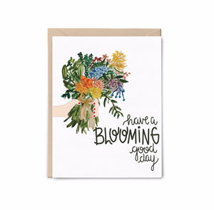 Blooming Good Day Card