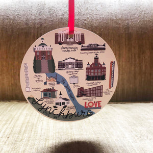 Lynchburg VA Ornament