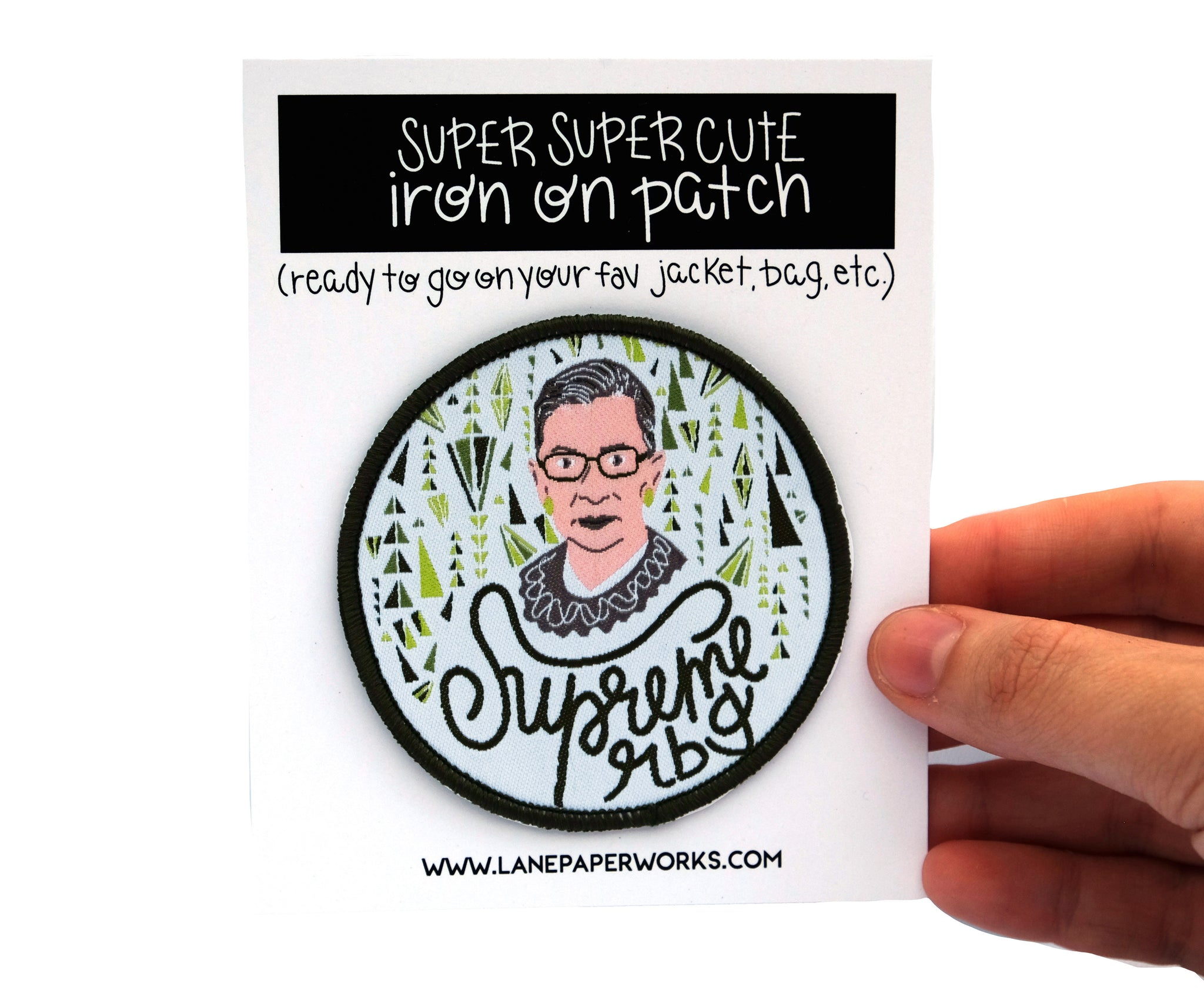 Supreme RBG Patch