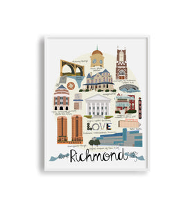 Richmond VA Print