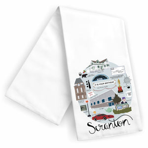 Scranton Tea Towel