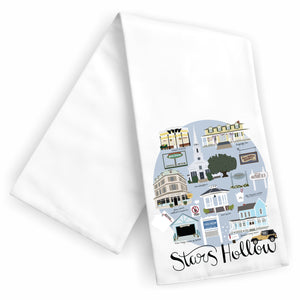 Stars Hollow Tea Towel