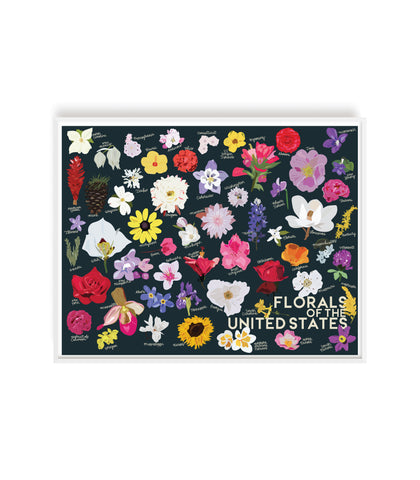 Florals of the United States Print