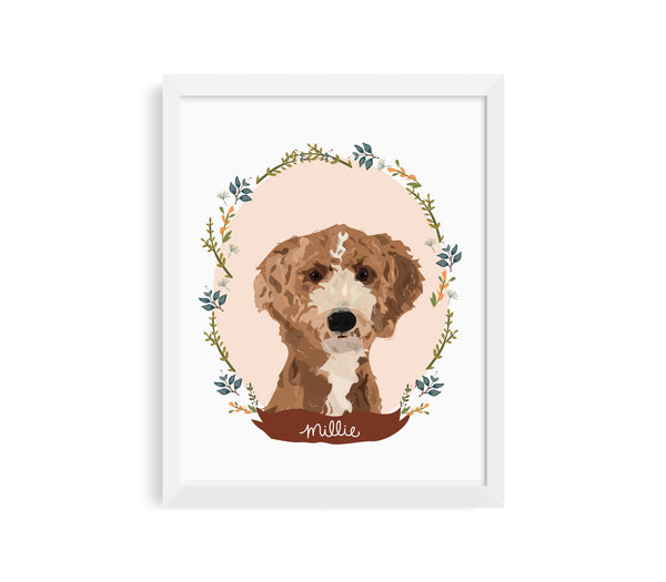 Custom Pet Illustration
