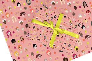 Women Encouragement Wrapping Paper