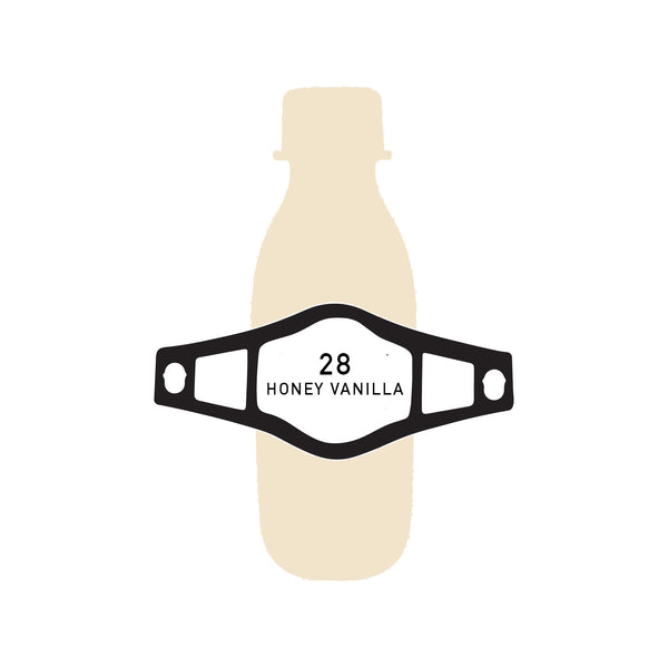 28 bottles HONEY VANILLA KEFIR (BOTTLE SIZE - 200 ML)
