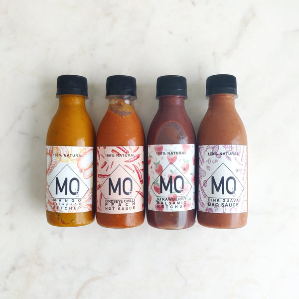 ASSORTED CONDIMENTS X 4 (200ml EACH)