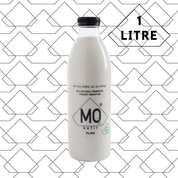 8 X Plain Kefir (BOTTLE SIZE - 1 LITRE)