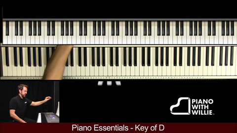 Piano Essentials Key of D
