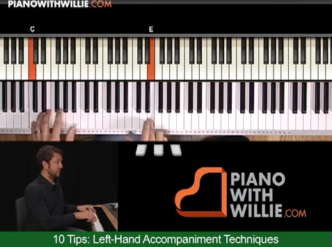 10 Tips: Left Hand Accompaniment Techniques