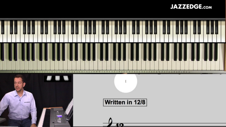 12/8 Piano Grooves [HangWithWillie]