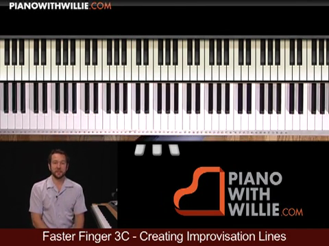 Faster Fingers 3C – Creating Improvisation Lines