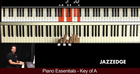Piano Essentials Key of A