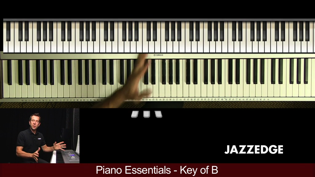 Piano Essentials Key of B