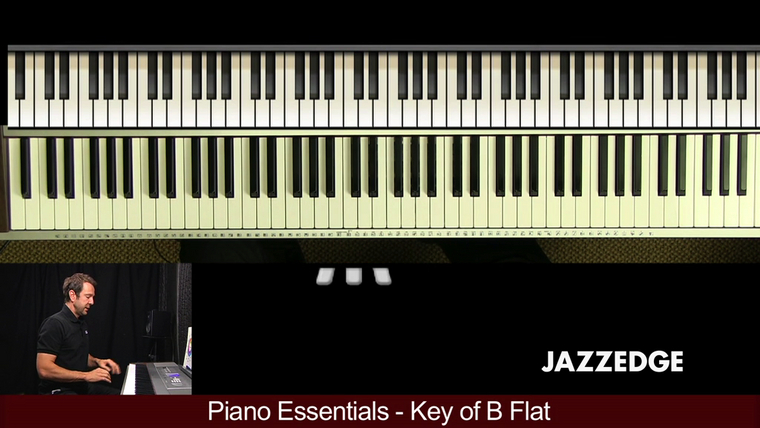 Piano Essentials Key of B Flat