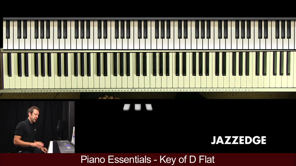 Piano Essentials Key of D Flat