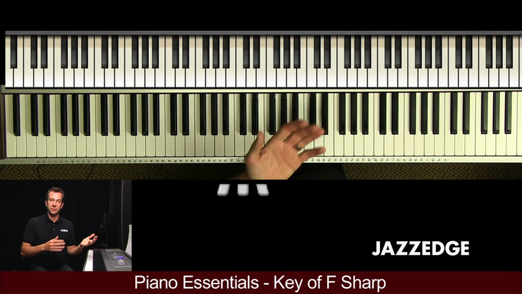 Piano Essentials Key of F Sharp