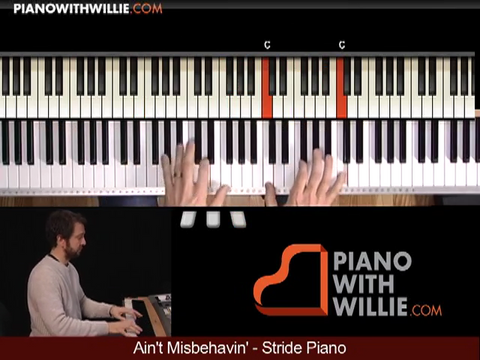 Stride Piano – Fats Waller Aint Misbehavin pt. 1