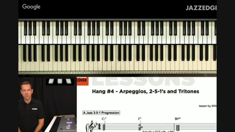 Arpeggios, 2-5-1's and Tritones [HangWithWillie]