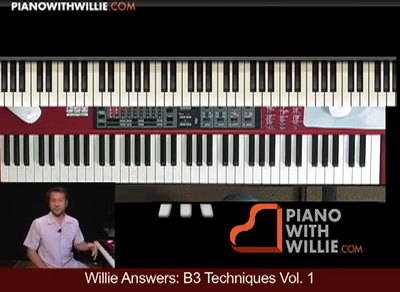 Willie Answers: B3 Organ Techniques Vol 1