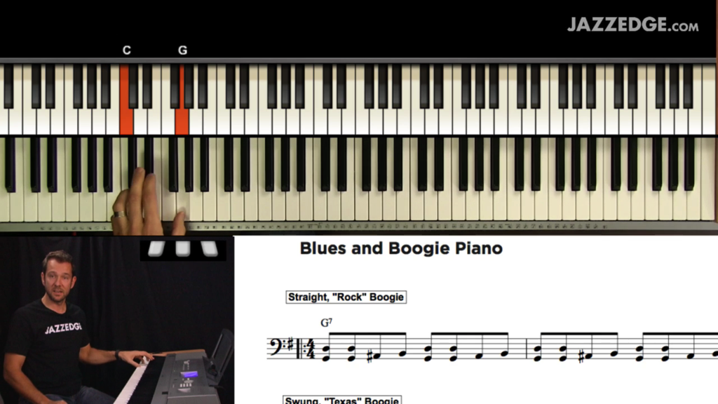Blues and Boogie Piano [HangWithWillie]