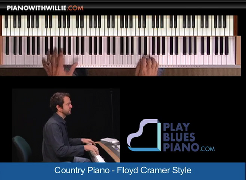 Country Piano – Floyd Cramer Style