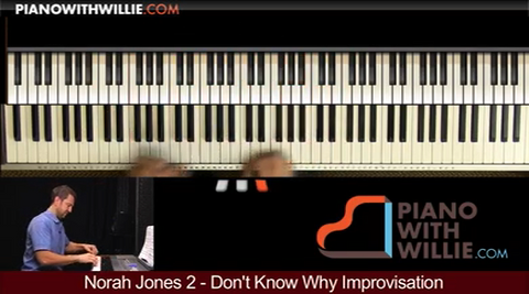 Norah Jones – Dont Know Why vol. 2 (improv)