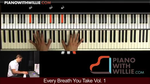 Every Breath You Take – Arrangement Part 1