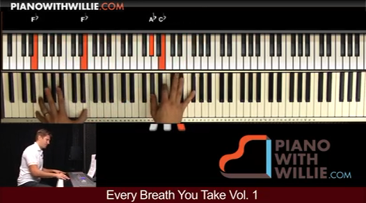 Every Breath You Take – Arrangement Part 2