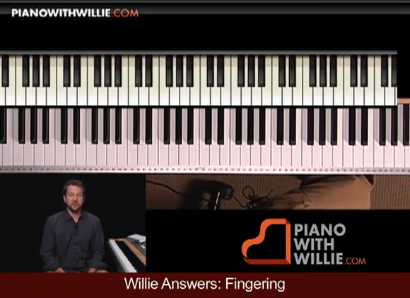 Willie Answers: Fingering, Arpeggios, Apply Chords To Melody