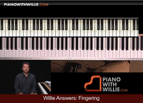 Willie Answers: Fingering, Arpeggios, Chords To Me
