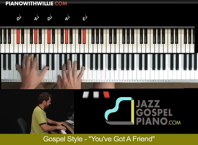 Gospel Accompaniment – You've Got A Friend
