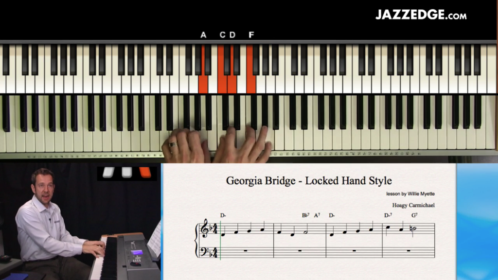 Georgia Bridge – Locked Hand Style [HangWithWillie]