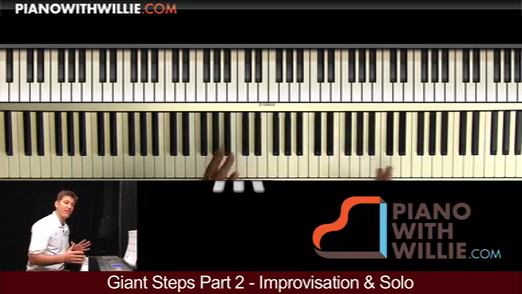 Giant Steps Part 2 – Improvisation and Solo