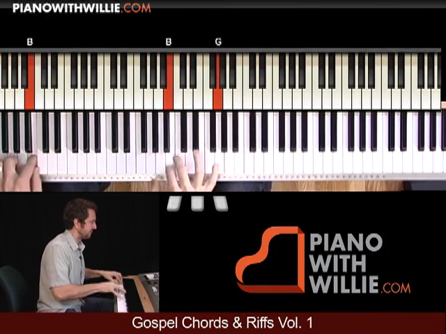 Gospel Piano Riffs 2