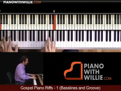 Gospel Piano Riffs 1 – Accompaniments And Groove