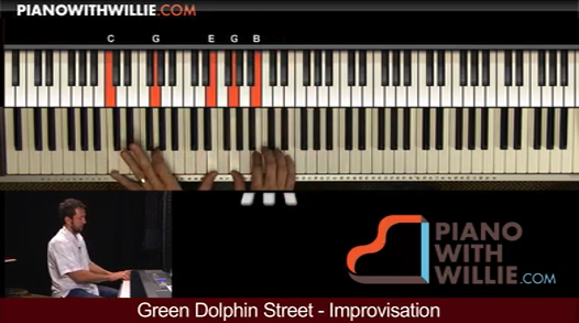 Green Dolphin Street – Improvisation