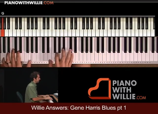 Willie Answers: Gene Harris Blues Part 1