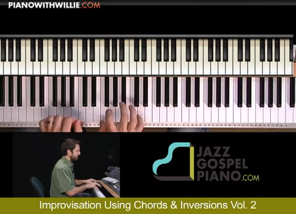 Improvisation Using Chords & Inversions Vol 2