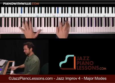 Jazz Piano Improvisation Volume 4 - Scales and Modes